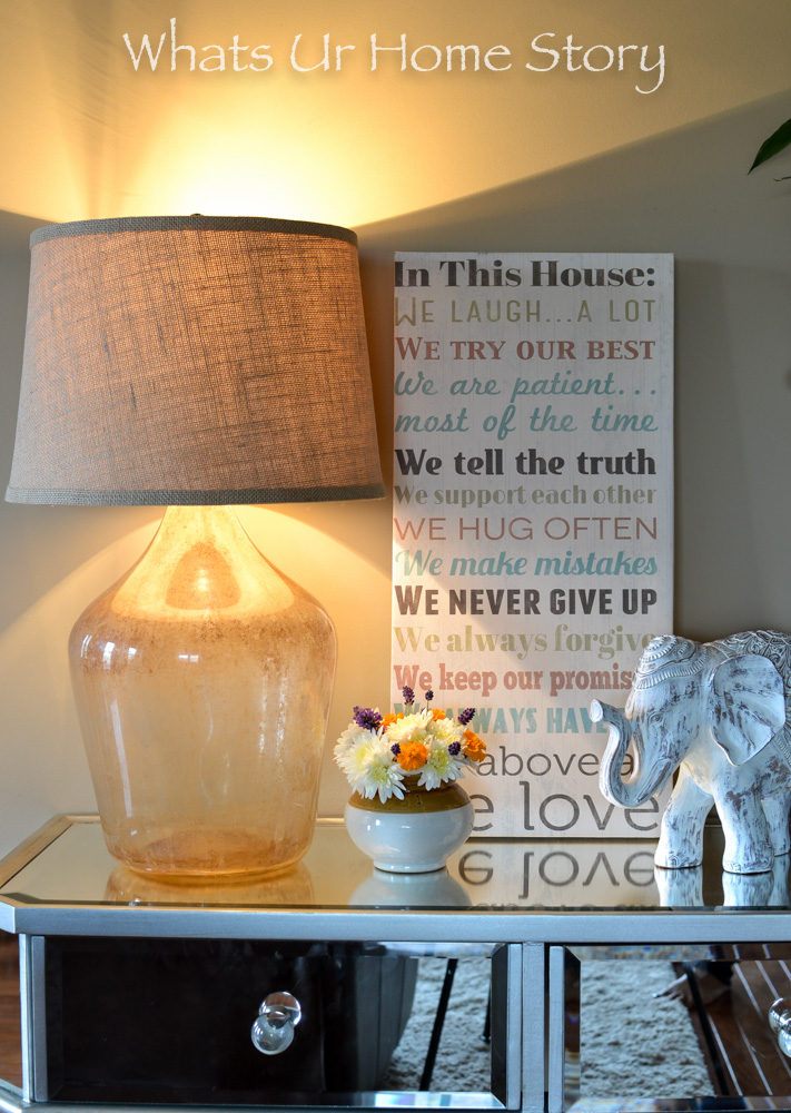 Potterny Barn knock off! You won't believe how much I made this demijohn lamp for!