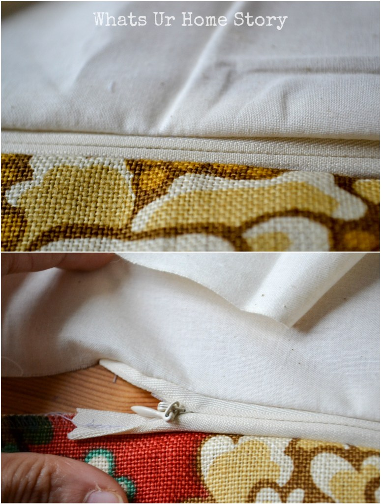 Invisible zippers are really easy to sew!