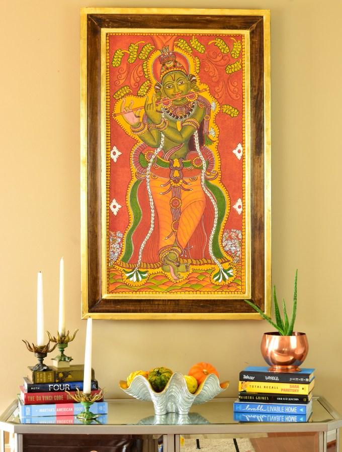 diy-gold-leaf-frame-kerala-mural-painting