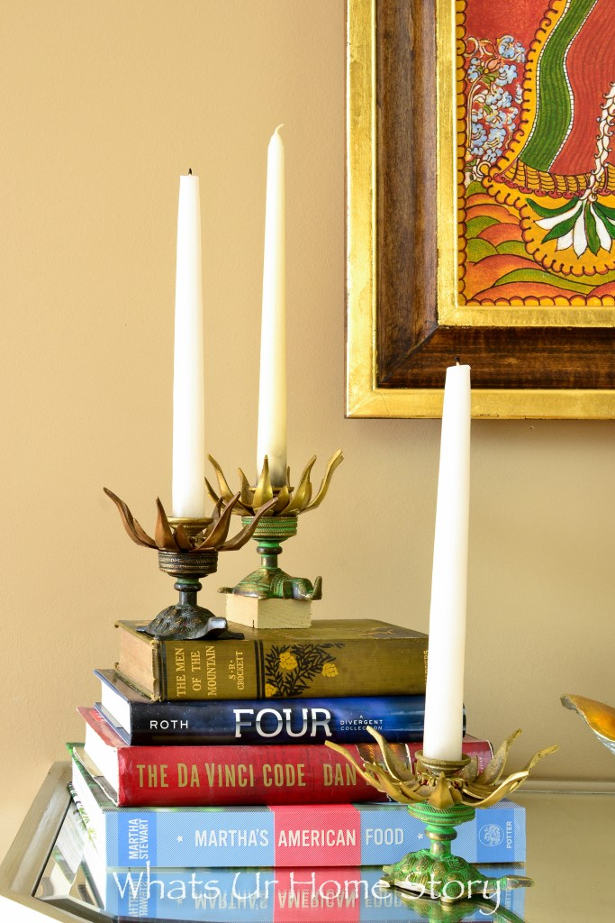 traditional-indian-brass-candle-sticks