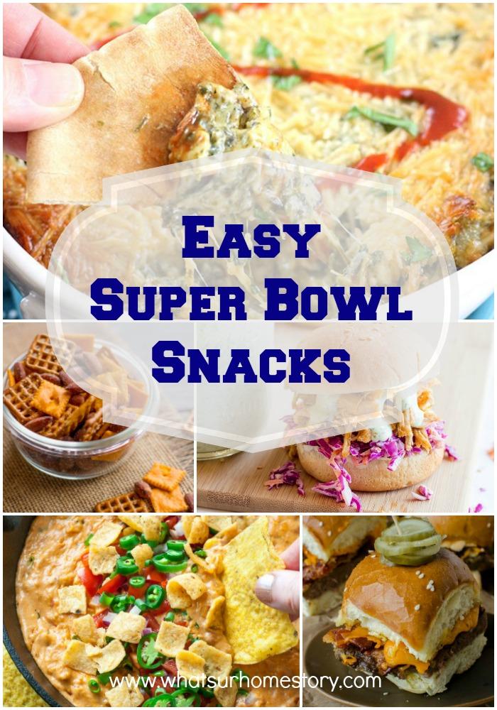 Easy Super Bowl Snacks