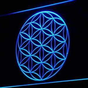 Alien Crop Circle neon light sign