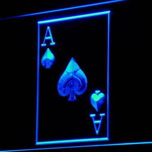 Ace of Spades neon light sign