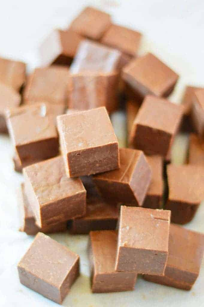 Milk Choco Milk Chocolate Fudge - What The Fork