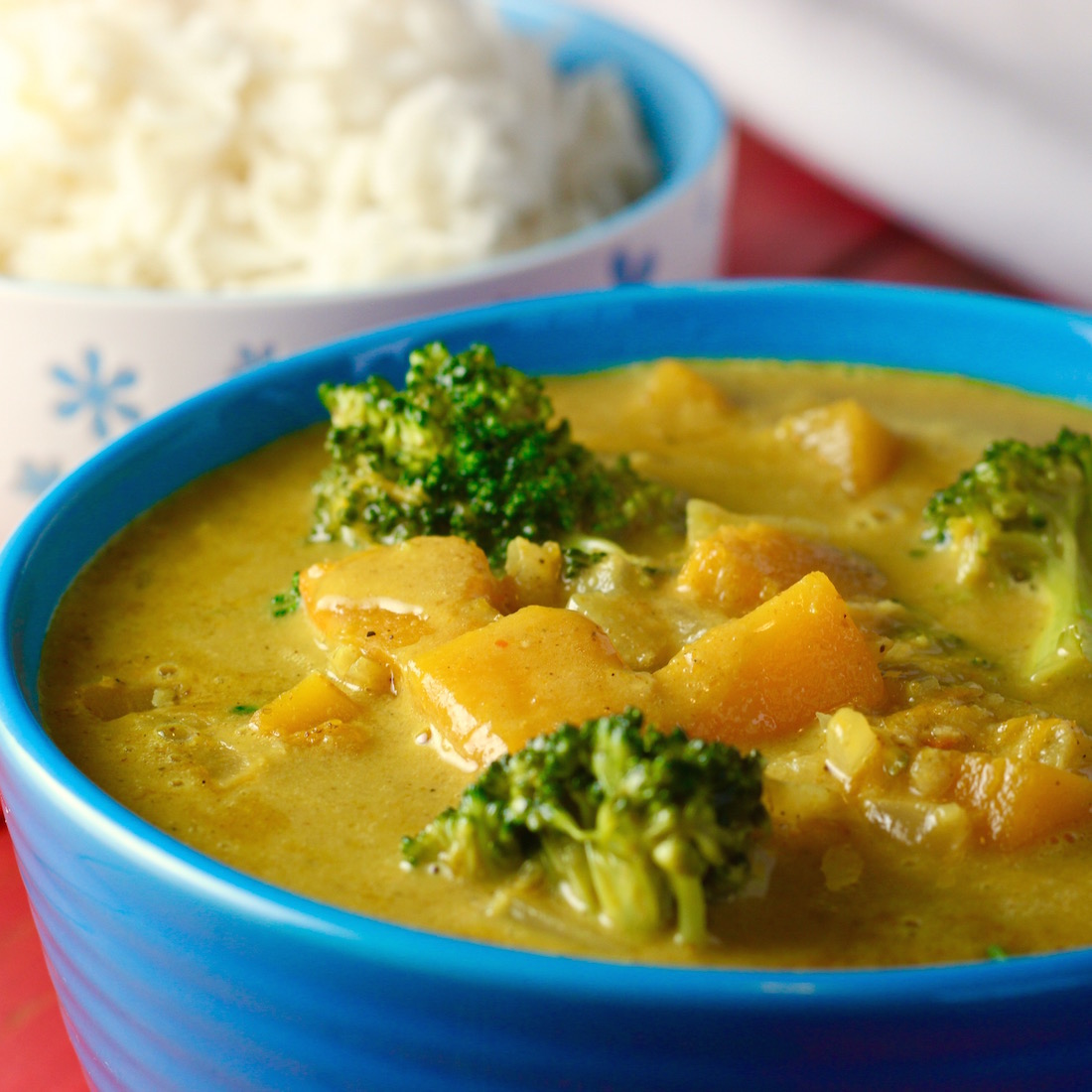 Coconut Curry with Red Kuri Squash | WHAT the HECK do I ...