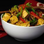 Spicy Curried Singapore Noodles