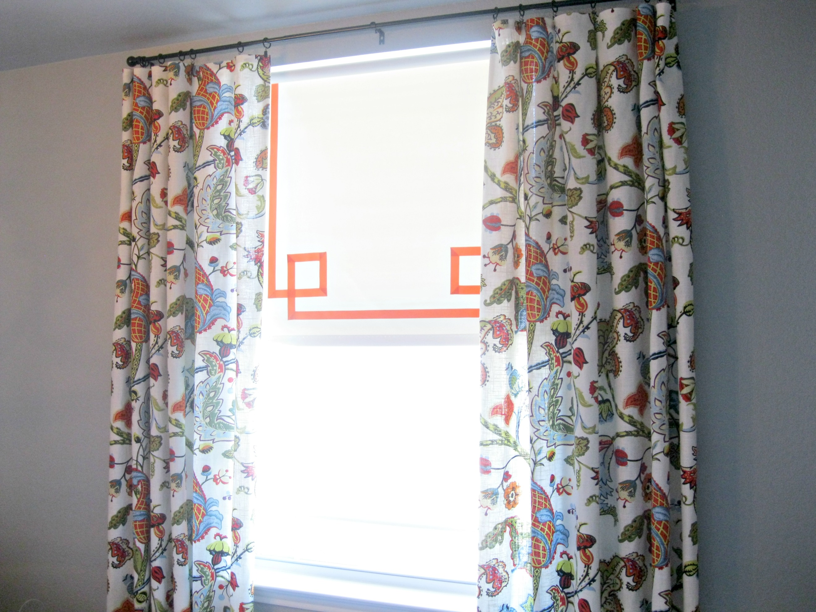 Ribbon Trim Curtains Tutorial How To Add Ribbon To Roller Shades What The Vita