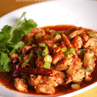 SZECHUAN SPICY CHICKEN