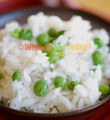 GREEN PEA RICE