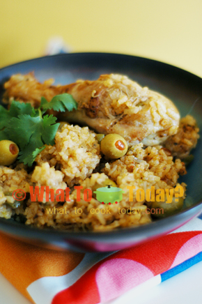 ARROZ CON POLLO / RICE WITH CHICKEN