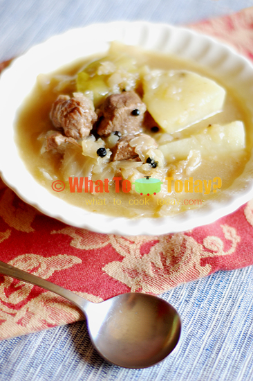 NORWEGIAN LAMB AND CABBAGE / FARIKAL