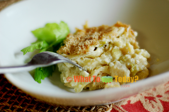 FISH GRATIN / FISKERGRATENG