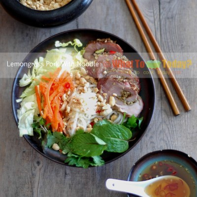 LEMONGRASS PORK WITH NOODLE