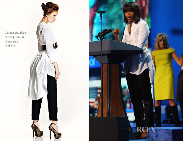 Michelle Obama in Alexander McQueen at Kids 2013 Inauguration Concert