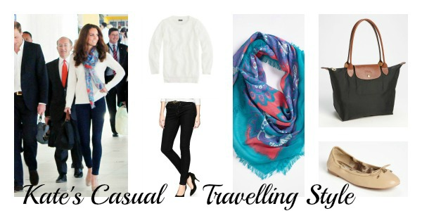 Kate casual travel style