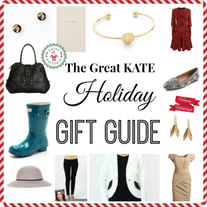 A Kate Inspired Gift Guide