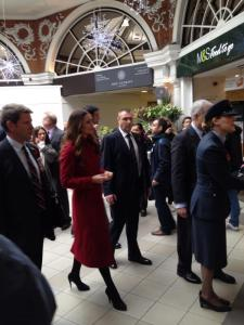 William and Kate host London Poppy Day supporters