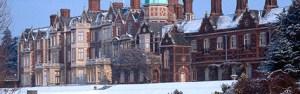 Sandringham in Winter via Royal.gov.uk