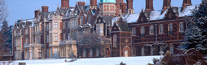 Sandringham in Winter via Royal.gov.uk