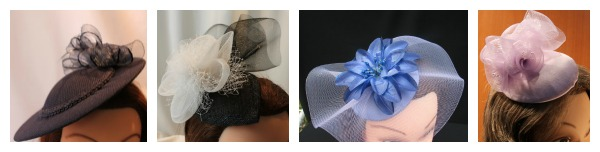 Doll Dressed Up fascinators