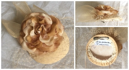 Kate Inspired Fascinator DDU