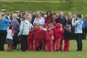 The Earl and Countess of Strathearn visit Perth and Kinross