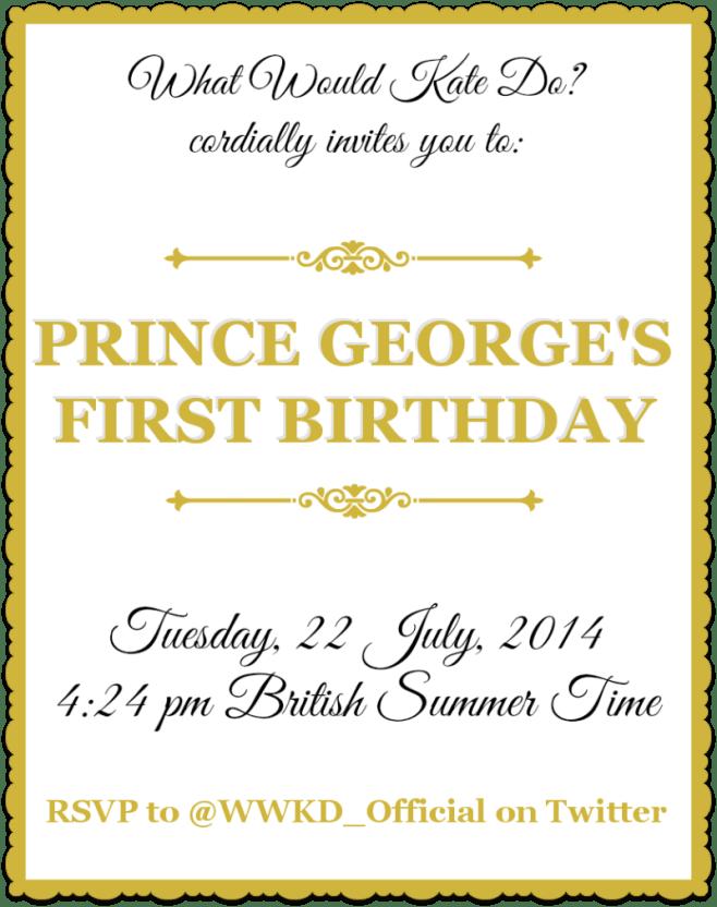 PG Birthday Invitation
