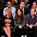 Kate and William Attend Cavaliers & Nets NBA Game in Brooklyn, New York