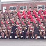 The Duchess of Cambridge visits the Irish Guards on St. Patrick's Day
