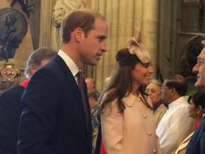 The Duchess of Cambridge attends Commonwealth Day Service at Westminster Abbey
