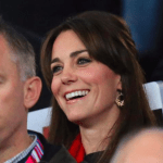 Kate attends England vs. Wales Rugby World Cup Match