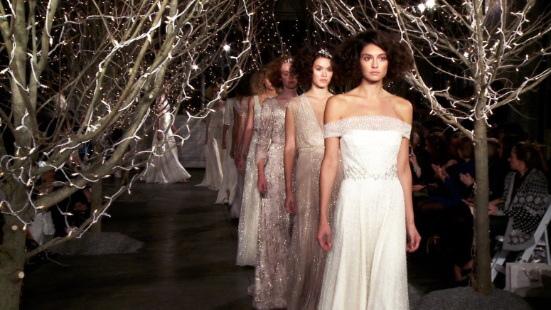 Jenny Packham Wedding Runway Show
