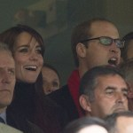 William and Kate attend Wales v. Australia Rugby Match
