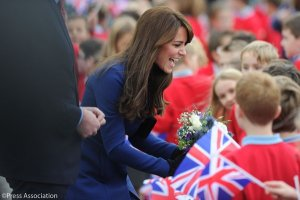 The Duke and Duchess of Cambridge visit Dundee, Scotland