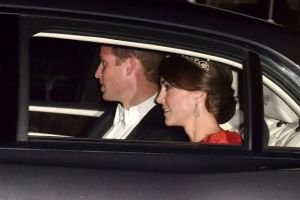 The Duke and Duchess of Cambridge attend the Chinese State Banquet