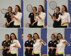 The Duchess of Cambridge visits Edinburgh for Talks and Tennis