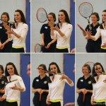 The Duchess of Cambridge visits Edinburgh for Talks and Tennis