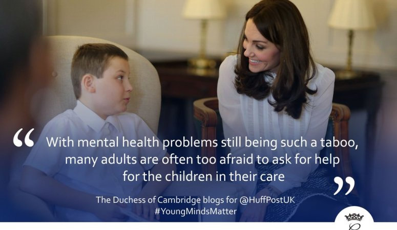 The Duchess of Cambridge takes over HuffPost UK for #YoungMindsMatter
