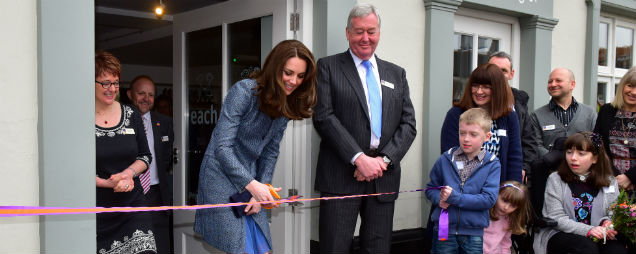 The Duchess of Cambridge visits EACH Norfolk Charity Shop