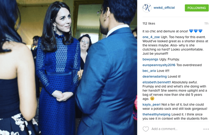 WWKD Instagram Royal Tour