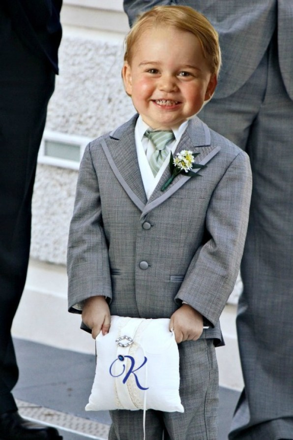 Prince George Ring Bearer