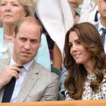 William & Kate Attend Wimbledon Finals