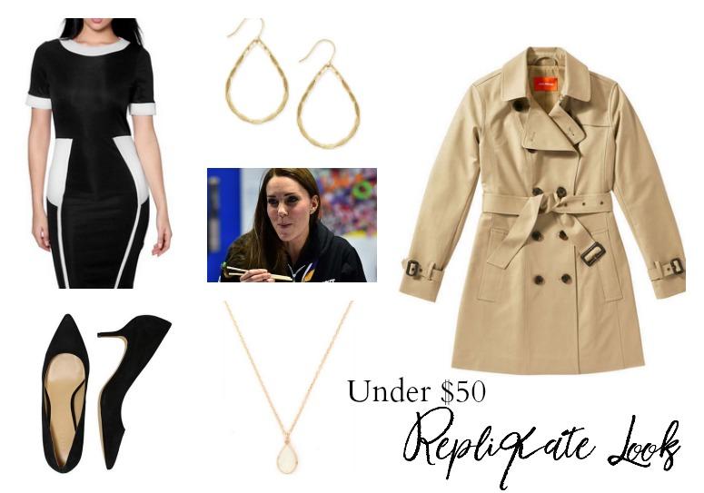 Under $50 Kate Middleton Look
