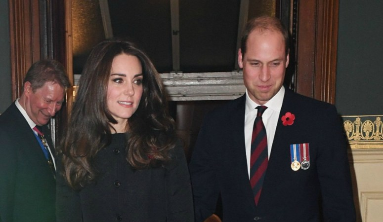 Kate Attends Festival of Remembrance with Royal Family