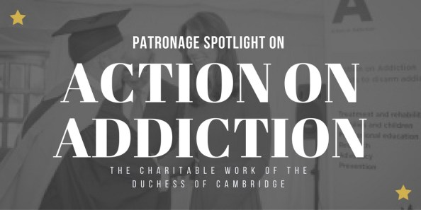 kate middleton action on addiction