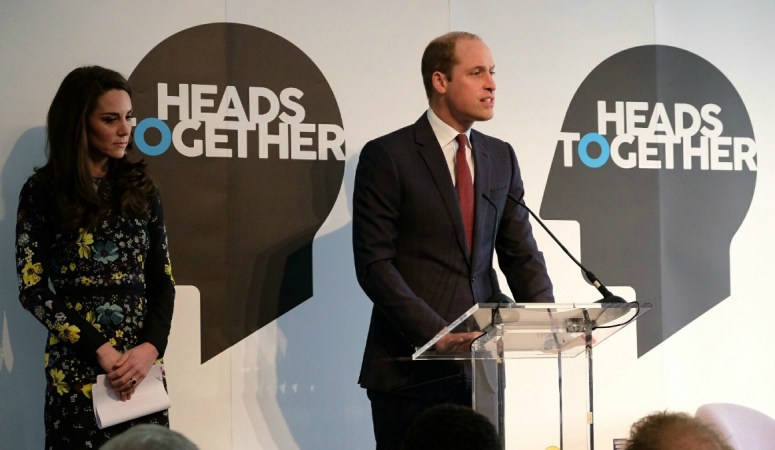 William, Kate & Harry Attend Heads Together Event