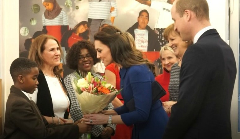 Kate's First Engagements of 2017