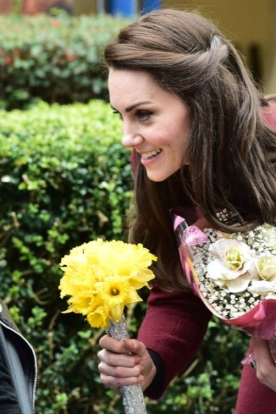 Kate visits Wales for Action for Children