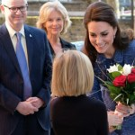 Kate Visits Evangelina House in London