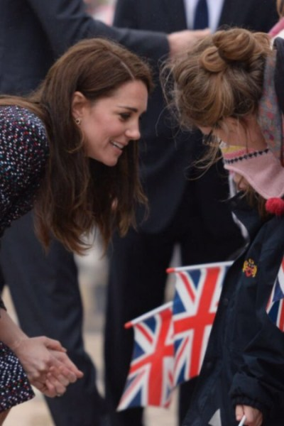 Royal Visit Paris : Kate in Chanel for Morning Engagements